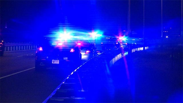 Two cars were shooting at each other while crossing the Chain of Rocks Bridge around 1 a.m., police said.
