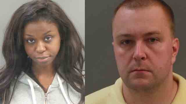 Keisha Edwards and Thomas Szczerba are facing felony charges after they allegedly forced a woman to have sex during a cross-country trip