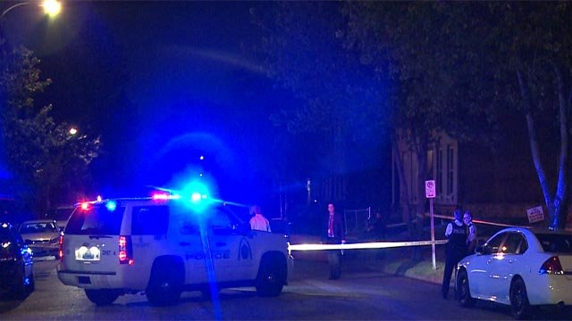 A man was shot to death in the 3600 block of Finney Avenue around midnight