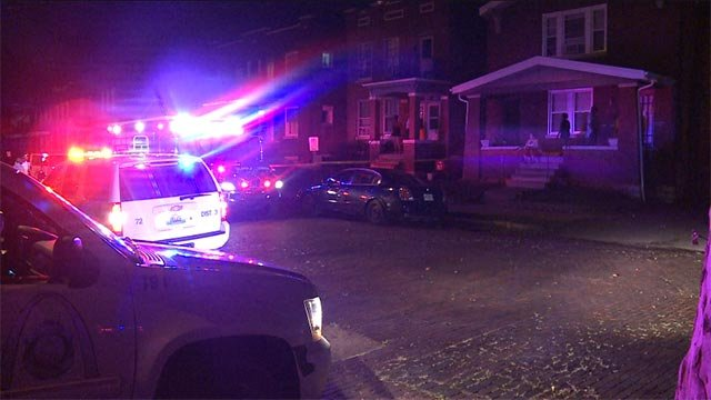 A man was outside in the 3400 block of Virginia when he was shot early Tuesday morning.