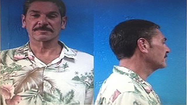"""Philip Maschek, 50, showed signs of intoxication when police found him """"passed out in his chair with his shirt off"""" inside the Springdale Municipal Airport in Arkansas Thursday, July 16, 2015. (Credit: Springdale Police Department)"""