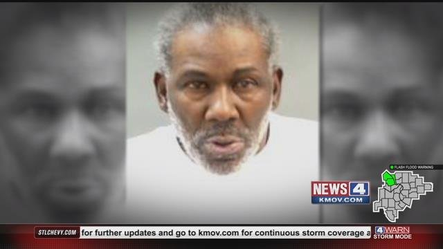 George James Calmese, 60, faces felony arson charges for allegedly setting a home on fire on McLaran Avenue.  Residents said they witnessed Calmese pour flammable liquid on the home's front steps, before it burst into flames