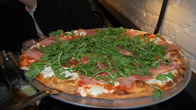 Juliana's Pizza, Brooklyn, New York -- Juliana's is No. 1 on TripAdvisor's list of America's top 10 pizzerias. The travel site looked at the quality and quantity of user reviews to come up with the rankings. (Credit: TripAdvisor)