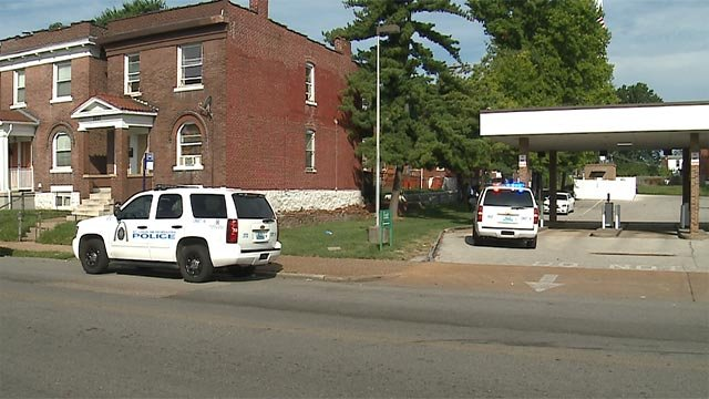 A man was shot in the leg near the Commerce Bank in the 4400 block of Natural Bridge around 8:30 a.m.