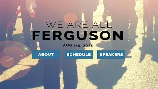 (Photo: We Are All Ferguson)