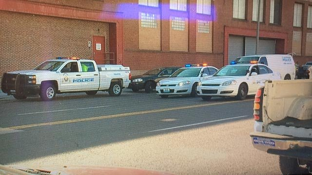 A corrections officer was shot in the 1500 block of North Broadway Thursday morning