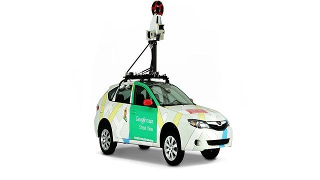 Aclima has equipped Google's Street view cars with environmental sensors (Credit: Google Street View)