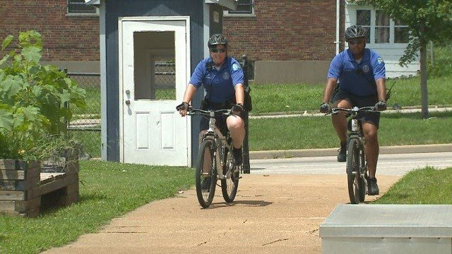 Two officers are dedicated to the new Community Engagement Bike Unit.