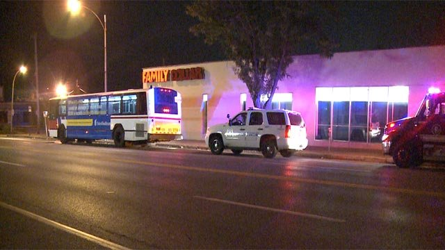 A Metro bus driver was assaulted while driving along Gravois and Itaska