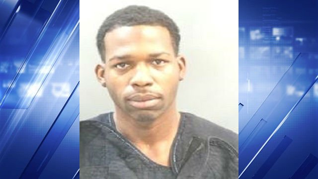 Donnell Tyson, 28, is accused of forcing his young daughters to help him assault his girlfriend.
