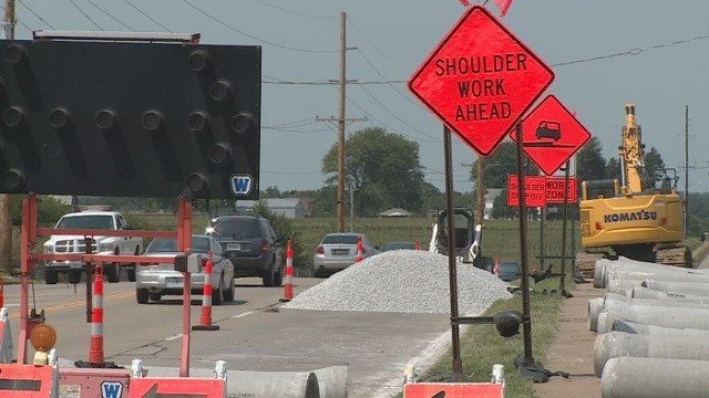 Road work to fix a dangerous section of Wentzville Parkway is also facing speeding drivers.