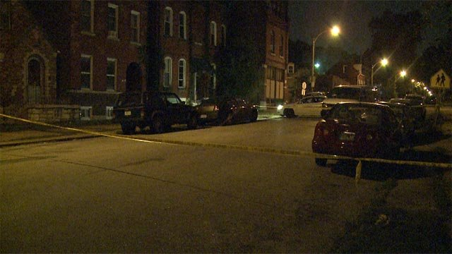 A man was shot in the 3700 block of Ohio in South City overnight.