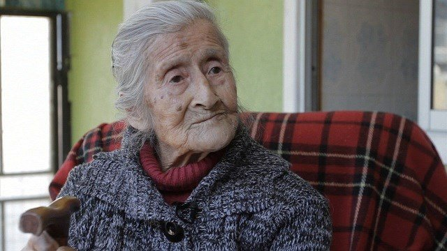 Estela Meléndez, 91, says she has had a lump on her belly for many years, but had no idea that she was carrying a fetus. Doctors say it has been in her uterus for over six decades. The fetus is calcified and poses no health risk to the woman. (Photo: CNN)