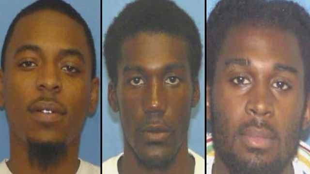 Undray Webb, Byron Holton, and LaMarcus Jackson are accused of breaking into a home in Venice, Ill, stealing marijuana and cash, and fatally shooting Calvin Tally, 41