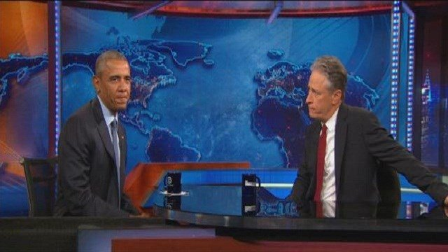 "The penultimate episode of ""The Daily Show"" featured a very sentimental Jon Stewart."