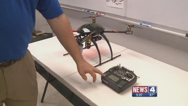 The St. Louis Fire Department is considering  using drones in emergency rescues.