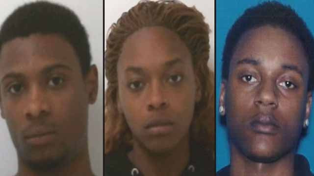 Lorenzo Waller, Martece A. Shumpert and Quan Willis are charged with aggravated vehicular hijacking, armed robbery, aggravated battery, and unlawful use of a weapon.