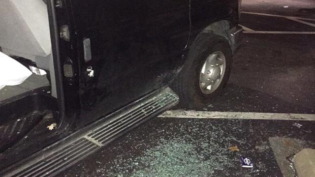 (Credit: 'KOG Help' GoFundMe page)  The Kingdom of Giants had their tour van broken into in St. Louis Monday night
