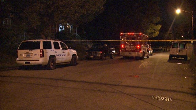 The body of a woman in her 50's was found in the 4500 block of Labadie around 3 a.m., according to police.