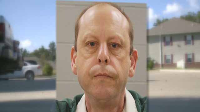 Thomas Skillington, 53, is accused of kissing an 11-year-old girl. He allegedly invited her to clean his apartment