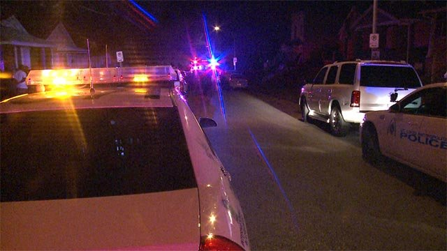 A man was fatally shot and a woman injured during a shooting at Mimika and Shulte Thursday morning.