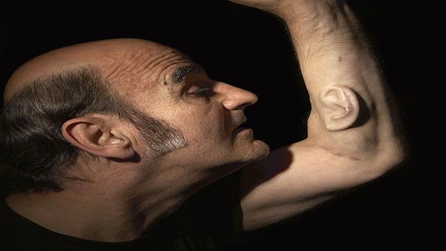 Stelarc, the award-winning Australian performance artist who has grown a third ear on his arm for art's sake, believes it is.  (Credit: Nina Sellars)
