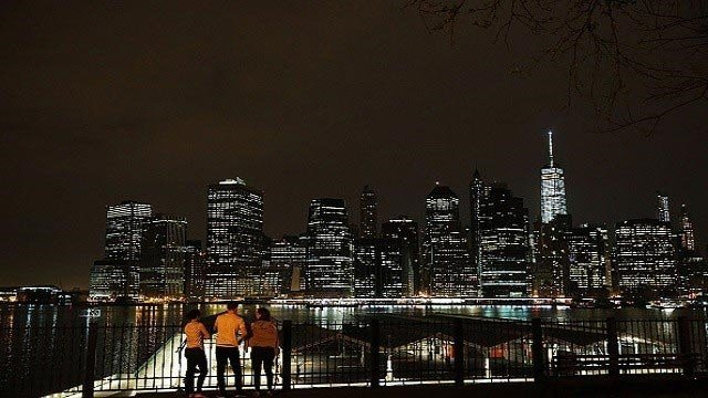 NEW YORK, NY - MAY 05: The Manhattan skyline is viewed from Brooklyn on May 5, 2015 in New York City. . (Photo by Spencer Platt/Getty Images)