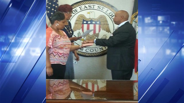 Sources tell News 4 Colonel Michael Hubbard was sworn in today as the new Police Chief of East St. Louis.