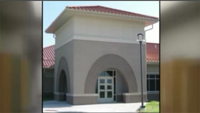 The new Flora Elementary School will open Tuesday night