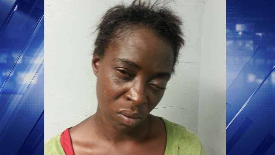 Williene Collins, 31, is charged with first degree assault. She allegedly set a man on fire in north St. Louis County