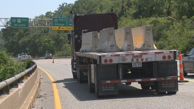 All eastbound lanes of Interstate 44 over the Meramec River is expected to reopen on Tuesday, August 18.