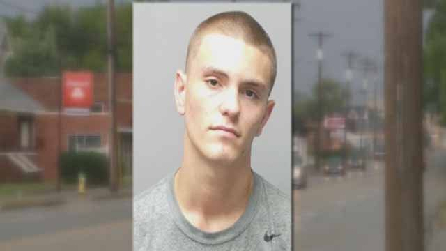 Brendan Dumala, 17, with two counts of burglary. He has been allegedly connected to a dozen burglaries