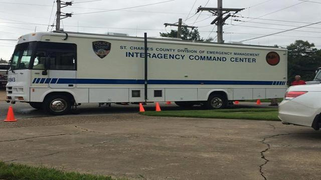 SWAT responded to a home in the 1200 block of South Wheaton Drive around 10 a.m.