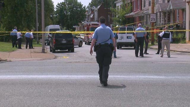 Police responded to the scene of a fatal officer-involved shooting Wednesday.