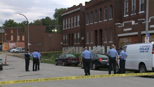 A man was fatally shot in the 4200 block of North 20th Street Wednesday night.
