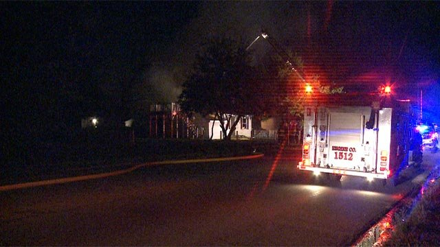 A firefighter suffered multiple injuries after falling while fighting a fire in the 4400 block of Lee around 11 p.m.