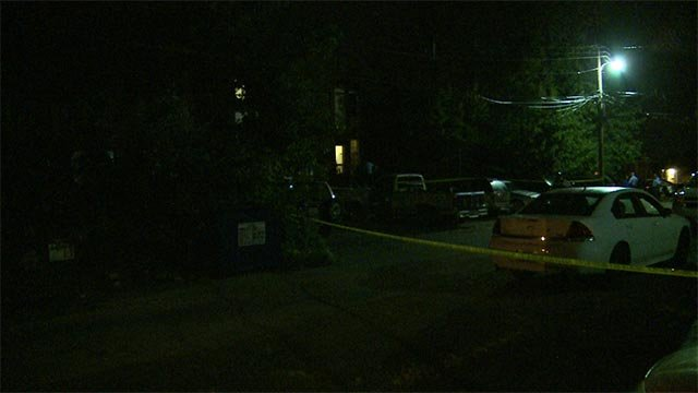 A 30-year-old man was in the 300 block of Eichelberger when he was shot in the torso around 3:30 a.m.