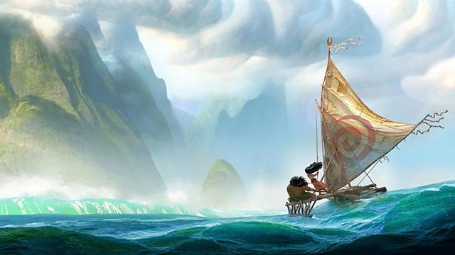"Disney is making another movie with a notable female protagonist. ""Moana,"" coming in late 2016, is about a Polynesian girl from Oceania who goes in search of adventure. (Credit: Walt Disney Pictures)"