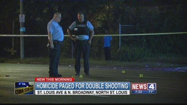 1 dead, 3 injured after overnight shootings in north St. Louis on Saturday.