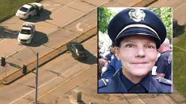 """Friends and colleagues of an off-duty Bellefontaine Neighbors police sergeant who died after being struck by a vehicle in North County Monday morning said she represented the """"epitome of what community policing is all about""""."""