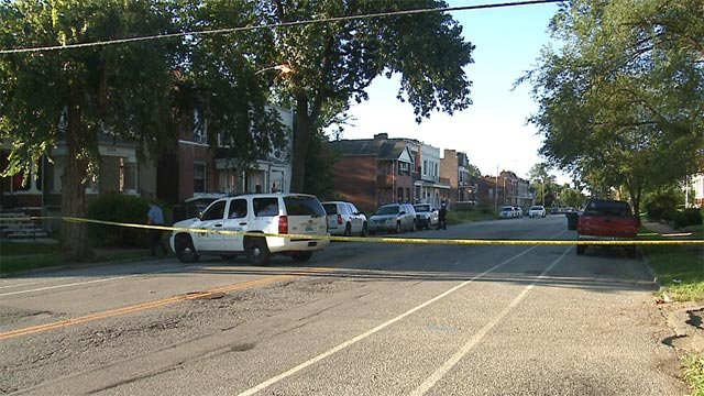 The 53-year-old was in the 1200 block of Euclid when the shooting took place around 7:20 a.m.