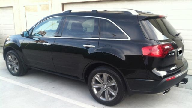 Police believe the suspect left the scene in a 2010-2013 Acura MDX