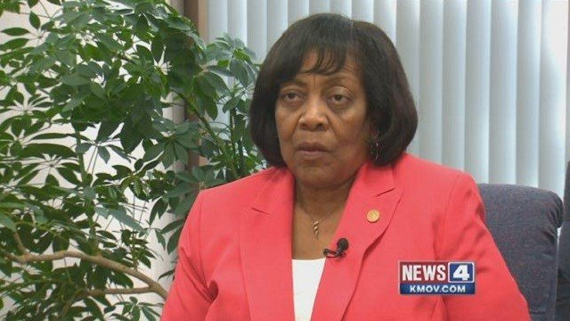 St. Louis County Councilwoman Hazel Herby speaks on District One's gun problem and the violence that impacts her community.