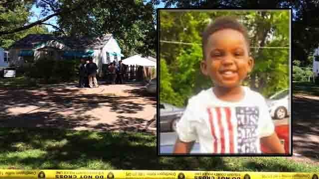 An arrest was made after 21-month-old Carter Epps fatally shot himself in north St. Louis County. (Photo: GoFundMe Page)