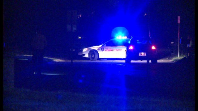 """A vehicle sustained bullet damage during a """"walk-by shooting"""" Sunday night."""