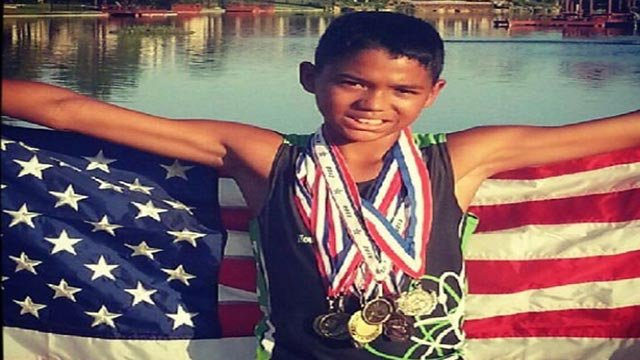 Michael John Riley Jr., 14, died after an August 13, 2015, swim where he contracted the brain-eating Naegleria fowleri amoeba. (Credit: Riley Family)
