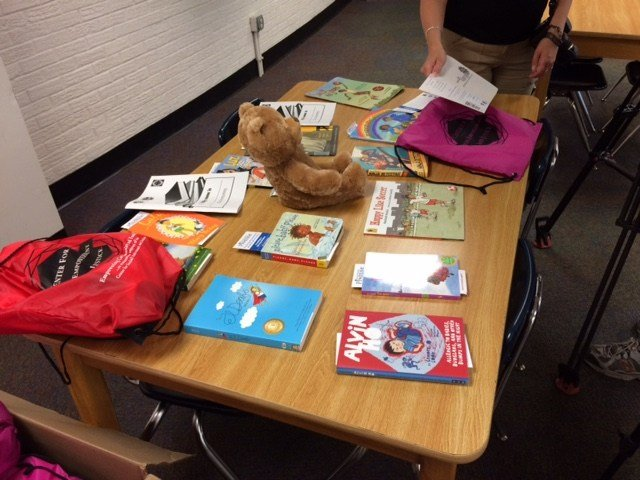 More than 300 teddy bears from Build-A-Bear Workshop and more than 300 elementary school-level books donated through American Federation of Teachers and First Book will be delivered to the entire student body of Koch Elementary on Monday, August 31.