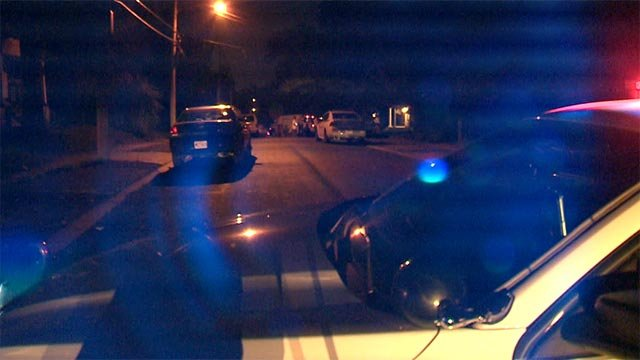 Two people were shot around 8:30 p.m. in the 2730 block of Wheaton Avenue Tuesday night