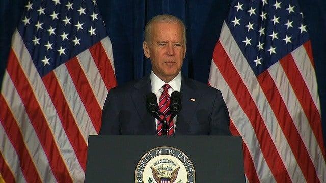 Vice President Joe Biden's in Florida Wednesday, Sept. 2, 2015 (Credit: AP)