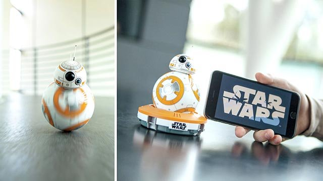 "The new rolling droid making its big-screen debut in ""Star Wars: The Force Awakens,"" known as BB-8, will be on store shelves beginning Friday, September 4, 2015. (Credit: CNNMoney)"